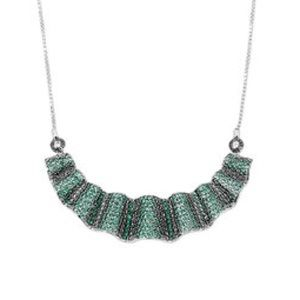 Henri Bendel Pave Frill Necklace
